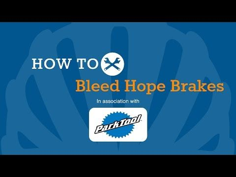 How To Bleed Hope Hydraulic Brakes - YouTube
