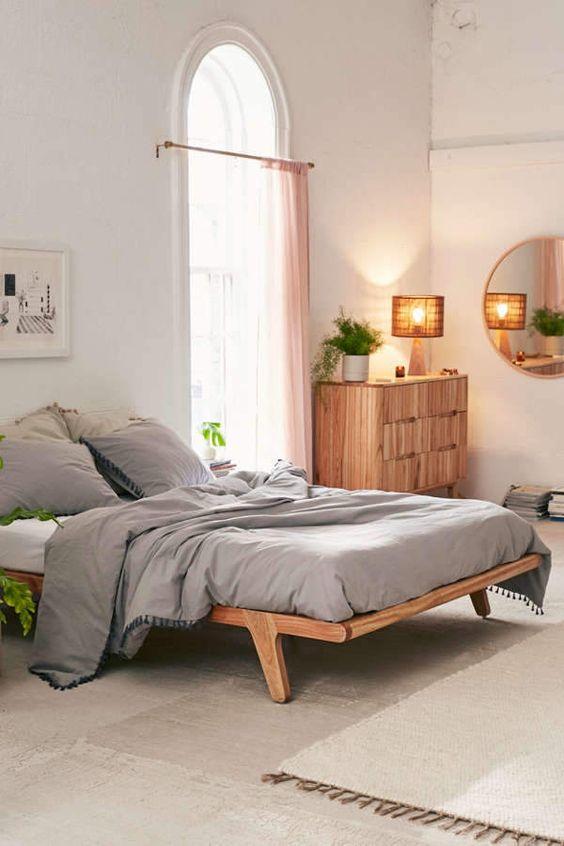 Petra Platform Bed Frame