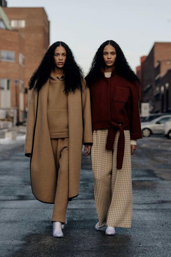 Street Style @NeDise camel coat