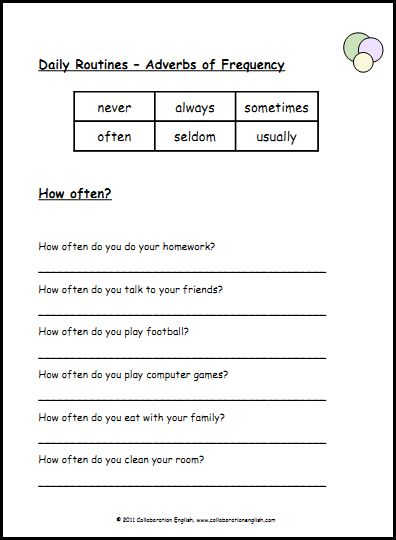 Worksheets Frequency Worksheet adverbs esl and worksheets on pinterest of frequency 1 via teaching english