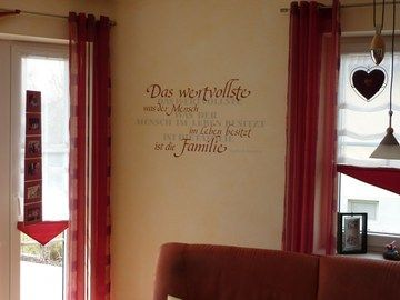 Warum nicht auch mal einen Spruch an die Wand malen lassen? Dekorative, kreative Wand- und Fassadengestaltung von der Malerwerkstatt Markus Rieß in Donauwörth (86609) | Maler.org