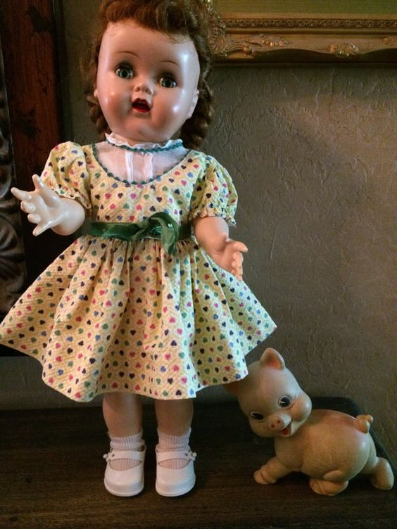 Ideal Saucy Walker Cryer Doll by WadingForGoodOdds on Etsy