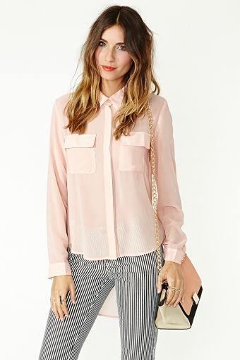 Button down blouses