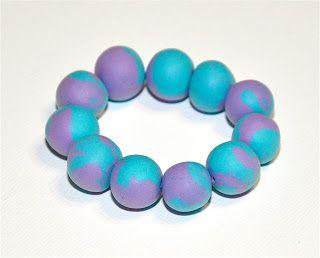 DIY Puffy Bead Bracelets