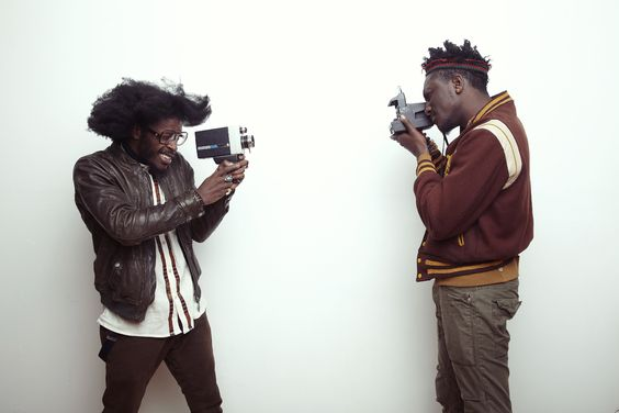 joshua kissi | Jesse Boykins III & Joshua Kissi photographing each other in my studio