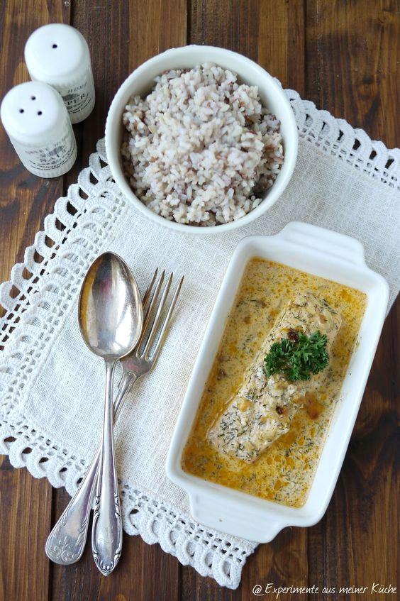 Experimente aus meiner Küche: Lachs-Sahne-Gratin