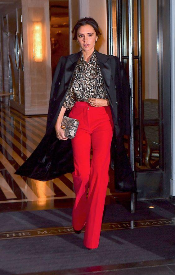 Victoria Beckham sets a trend with her new way of combining animal print -  Victoria Beckham sets a trend with her new way of combining animal print  - #animal #beckham #combining #KendallJennerOutfits #KimKardashian #print #sets #StylingTips #trend #victoria #VictoriaBeckham