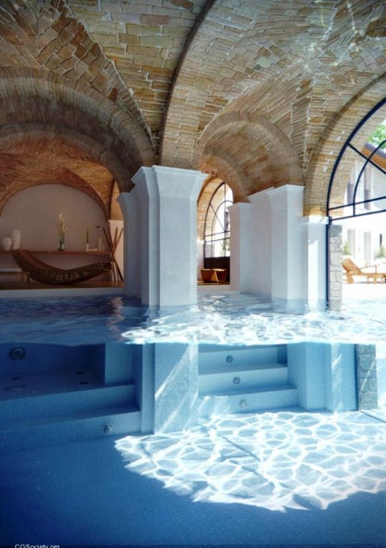 Mental vacation destination: Dream House, Awesome Pool