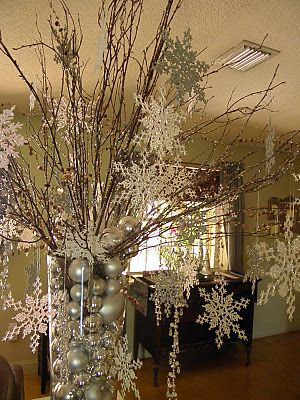 This would be a great decoration centerpiece on serving tables for a large event during the - Large table centerpiece ideas ...