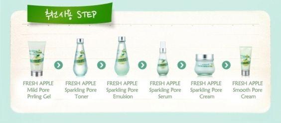 Bộ dưỡng da skinfood Fresh Apple - Mỹ phẩm Thảo My