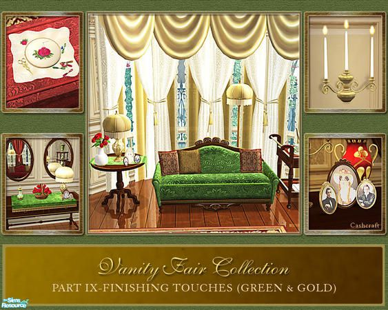 Cashcraftu0027s Vanity Fair Finishing Touches   Style: Traditional   Pinterest    Vanity Fair, Vanities And Sims