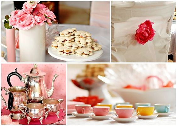great inexpensive ideas for a pink princess tea party