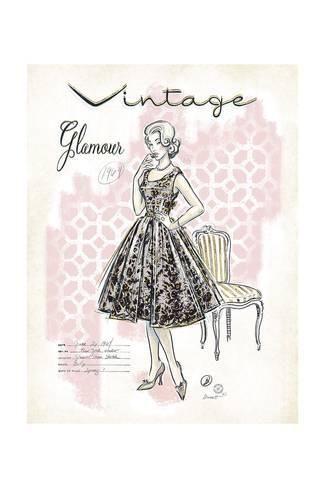 Vintage Glamour Art Print Chad Barrett Art Com Glamour Art Girly Art Posters Art Prints