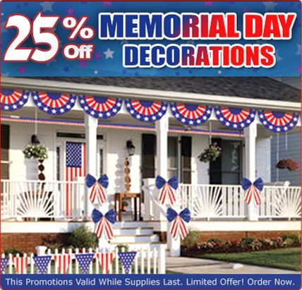 memorial day decoration - Google Search