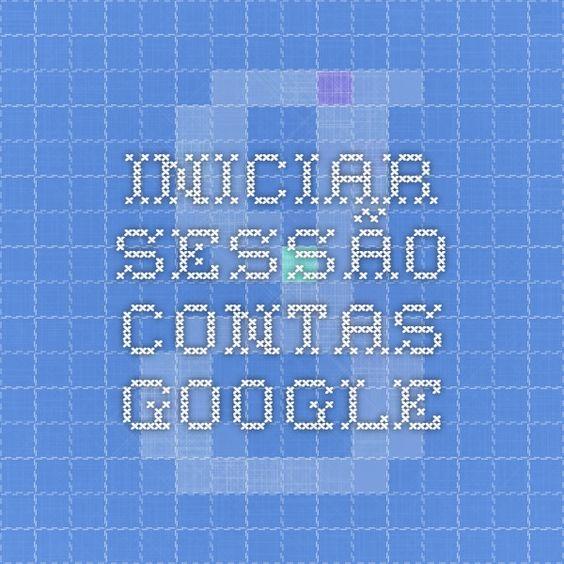 Iniciar sessão - Contas Google