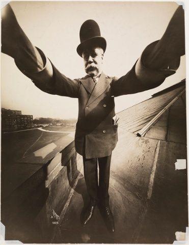Self-portrait by photographer Joseph Byron New York, 1909, founder of the Byron Company photographic studio