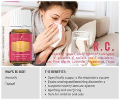 How to use RC Essential Oil and its benefits!