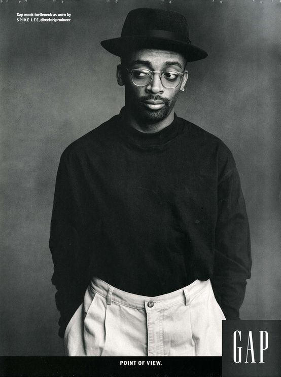 """""""Individuals of Style"""" Gap campaign, Spike Lee, 1989."""