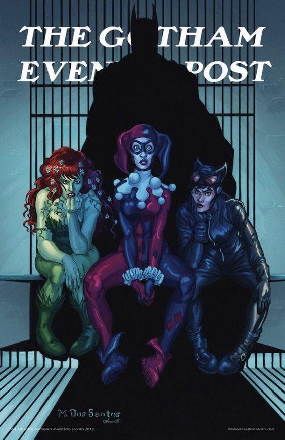 The Gotham Evening Post - Villianesses