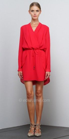 Wrap Tulip Dress by EDM Private Collection http://bit.ly/1TmD9bZ