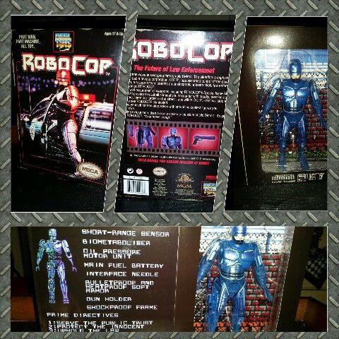 Spoils of Comic Con.. original neca robocop figure 1987