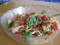 Rezept Italienischer Spaghettisalat von Wienie - Rezept der Kategorie Vorspeisen/Salate