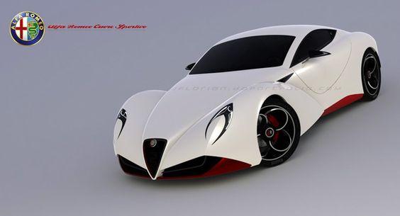 New Alfa Romeo 6C Cuore Sportivo Design Concept - Carscoop