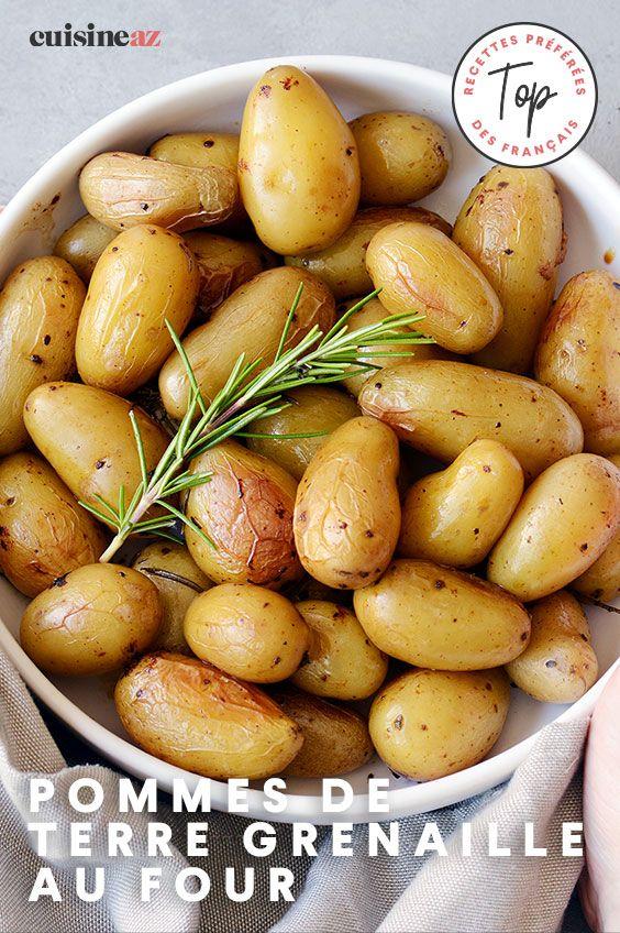 Pomme Grenaille Au Four : pomme, grenaille, Pommes, Terre, Grenaille, Recette, Pomme, Terre,, Grenaille,, Alimentation