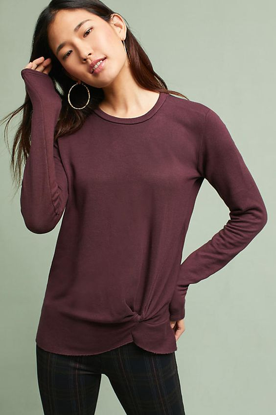 Affiliate Pin - Slide View: 1: Stateside Twisted Sweatshirt