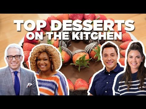 Top 5 Dessert Recipes From The Kitchen Food Network Youtube Food Network Recipes The Kitchen Food Network Dessert Recipes