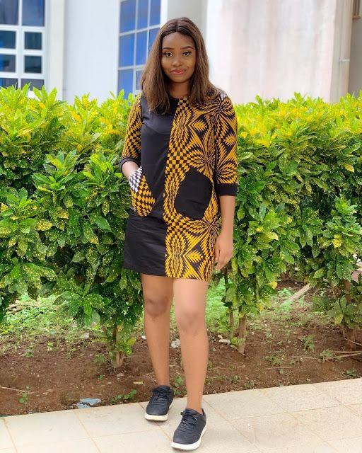 2019 Cute Ankara Gown Styles for Pretty Ladies
