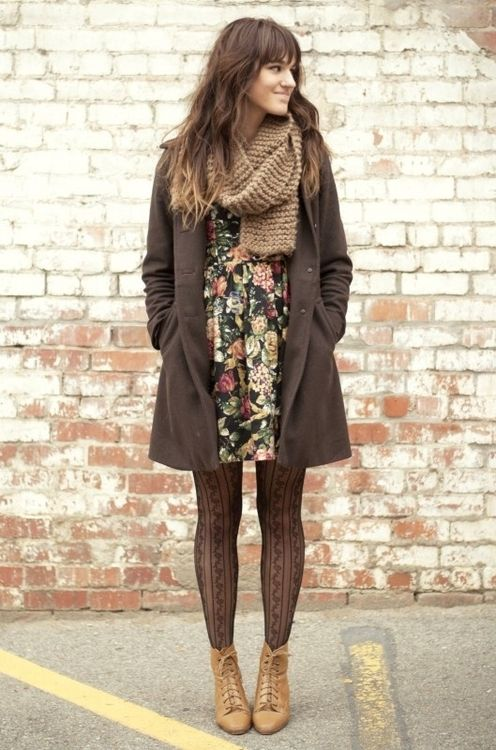 Brown is one of my favorite colors to pull outfits together.: