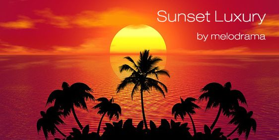 Deep Sunset Luxury Relax Party