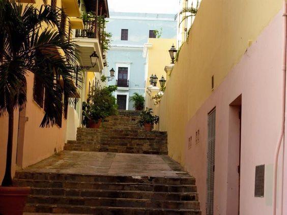 Callejon del Viejo San Juan