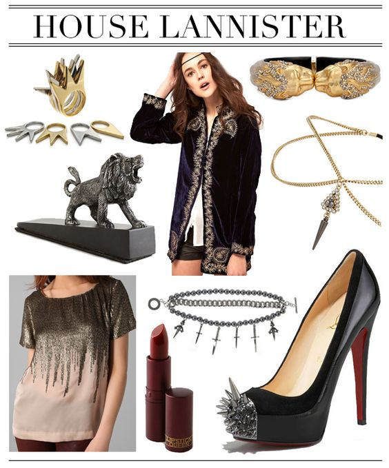 Lannister Fashion from Game of Thrones =)