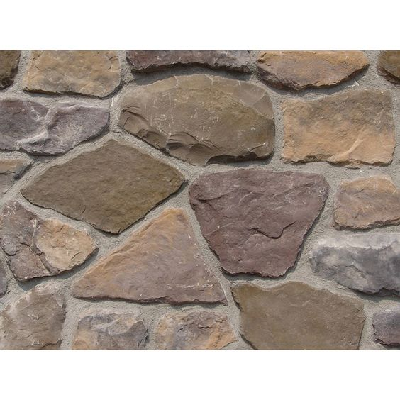 Ply gem stone fieldstone 10 sq ft buckingham faux stone for Buckingham choice floor plans