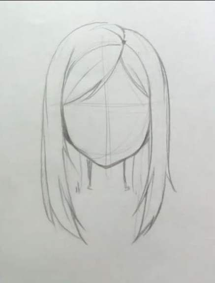 Hair Drawing Ideas Hairstyles Anime Girls 57 New Ideas Hair