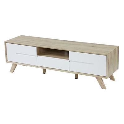 nora meuble tv scandinave decor chene