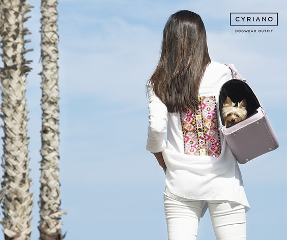 Celebrating #summer2016 with the #Cyriano #AnetteBag #Cyriano #Dogbag #Puppybag #SS16Cyriano