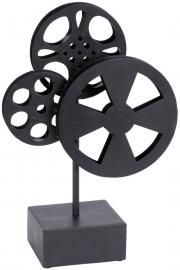 Create A Captivating Mise En Scene For Your Next Clic Film Screening With This Artfully Crafted Iron Movie Reel Decor Perfect Den Living Room