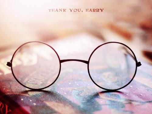 Thank you, Harry, for being my escape from the real world, for the memories of staying up way past lights out to read just one more chapter, and for bringing happiness to everyone who knows the stories.