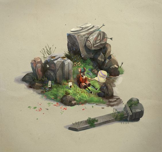 The Art of Pierre Antoine Moelo - Daily Art