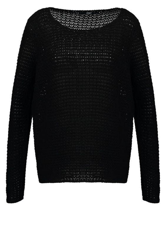 Gebreide truien ONLY ONLNEW SIA - Trui - black Zwart: € 19,95 Bij Zalando (op…