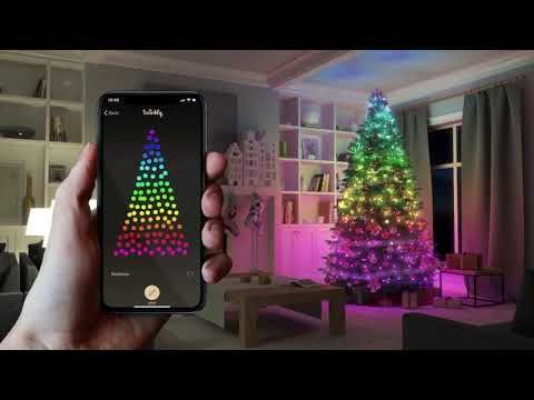 Twinkly App Controlled Smart Christmas Lights Christmas Designers Youtube In 2020 Christmas Lights Light App Led Christmas Lights