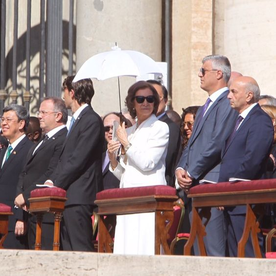 SM la Reina Doña Sofía asistió en Roma a la canonización de la Madre Teresa de Calcuta.  04-09-2016