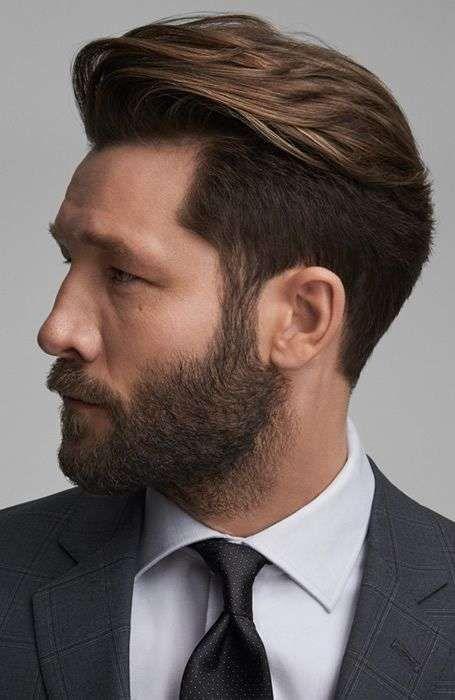 Tagli di capelli con stempiatura
