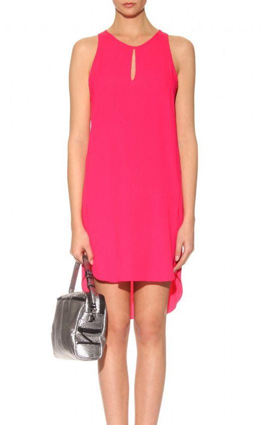 Philip Lim, pink crepe shift dress $450  courtesy of www.resortmix.com