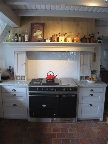 Lacanche fornuis met warmhoud oven, inklusief nostalgische schouw ...