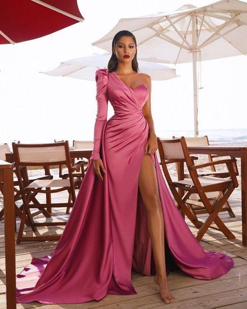 vestido de formatura elegante apaixonante