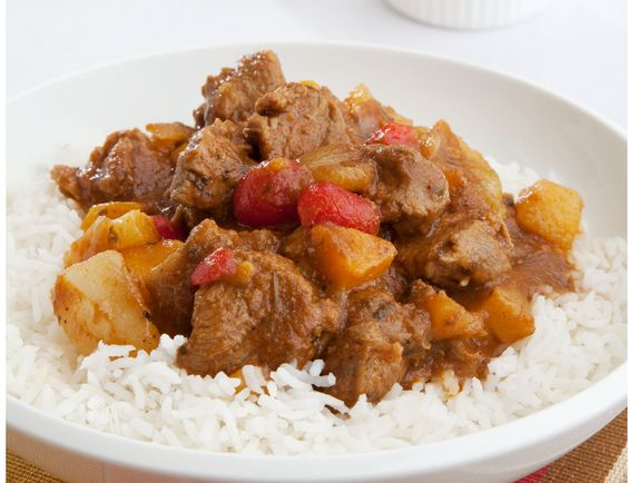 Fruity lamb vindaloo with basmati rice 4–6 servings http://tastic ...